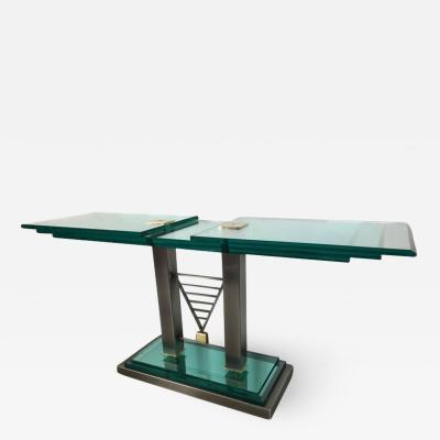 Design Institute America DIA Design Institute of America Deco Revival Console Table
