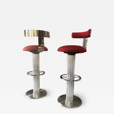 Designs for Leisure Ltd Designs for Leisure Pair of Tall Swivel Barstools