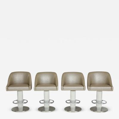 Designs for Leisure Ltd Set of Four Designs for Leisure Bar Stools