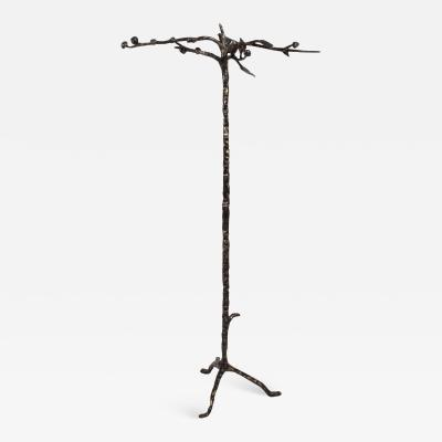 Diego Giacometti 1960s Sculpted Bronze Tree Coat Rack in the Style of Giacometti