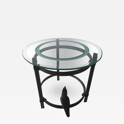 Diego Giacometti Diego Giacometti Inspired Bronze Cockatoo Table