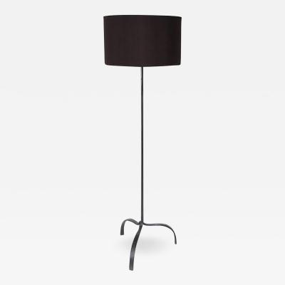 Diego Giacometti French Hand Wrought Iron Floor Lamp in the Spirit of Giacometti