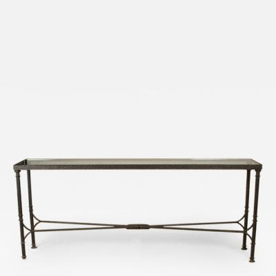 Diego Giacometti Only Authorized Diego Giacometti Reproduction Bronze Console Table
