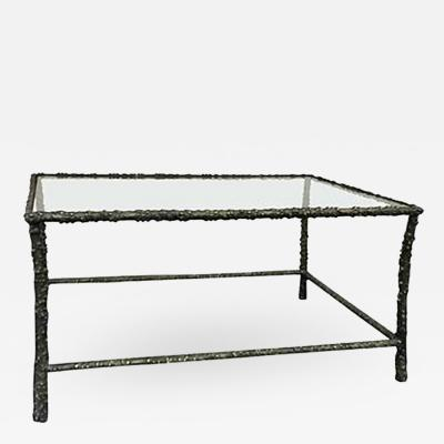 Diego Giacometti Vintage Forged Iron Table in the manner of Diego Giacometti