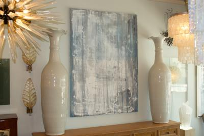 Dimarc American Abstract Expressionist Painting Acrylic on Canvas DiMarc