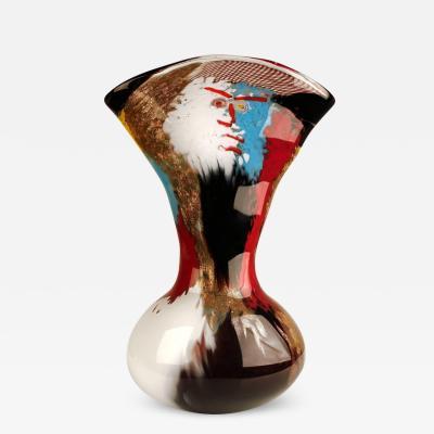 Dino Martens 1950s Dino Martens Geltrude Vase for Aureliano Toso