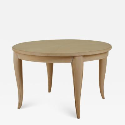 Dominique Dominique Low or Side Table in Rayed Sycamore