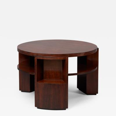 Dominique Exceptional Rosewood Table by Dominique France 1930s