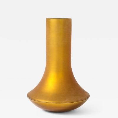 Donghia Donghia Matte Gold Murano Glass Bouquet Vase