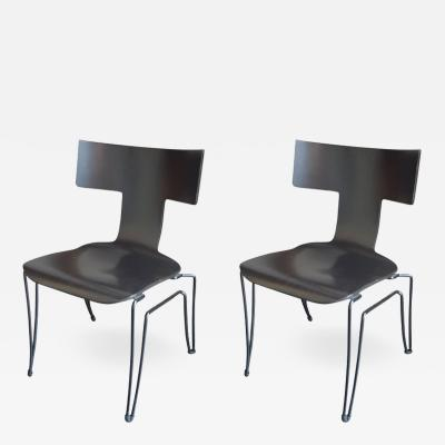 Donghia Pair of Donghia Chairs