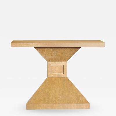 Donzella Ltd Studio Made Oak Console Table
