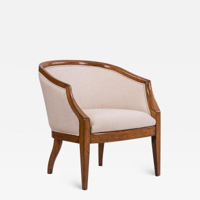 Dowel Claire Barrel Chair COM