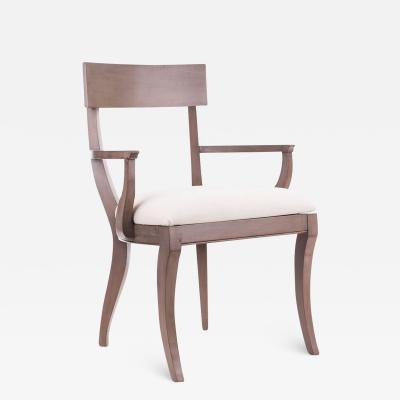 Dowel Grace Klismos Arm Chair COM