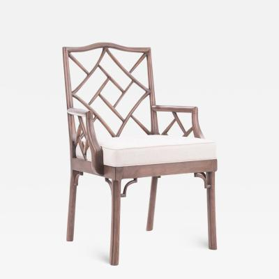 Dowel James Chinese Chippendale Arm Chair COM