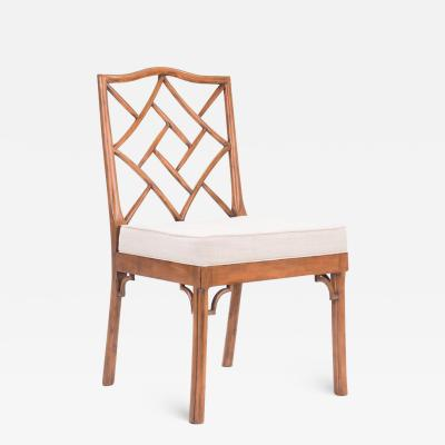 Dowel James Chinese Chippendale Side Chair COM