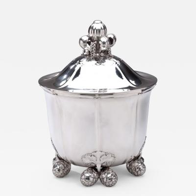 Drucker Antiques Georg Jensen Ice Cooler No 87