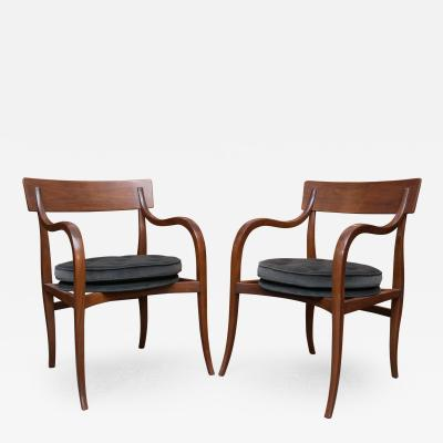 Dunbar Alexandria Chairs by Edward Wormley for Dunbar