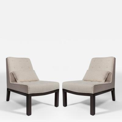 Dunbar Pair of Dunbar Slipper Chairs