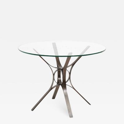 Dunbar Roger Sprunger for Dunbar Bronze and Glass Center Table 1960