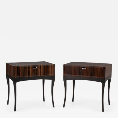 Dunleavy Bespoke Furniture Macassar Collection Bedside Tables
