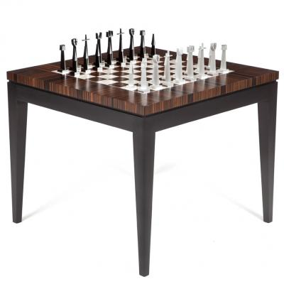 Dunleavy Bespoke Furniture Macassar Collection Chess Table