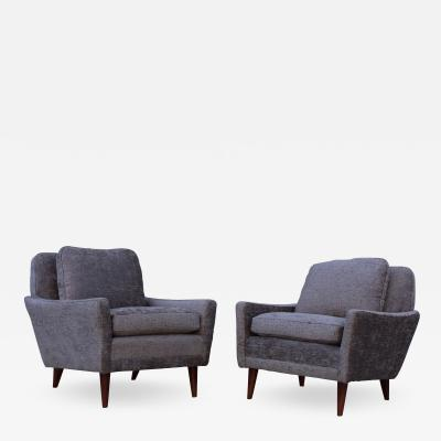 Dux 1960s Swedish Lounge Chairs By DUX