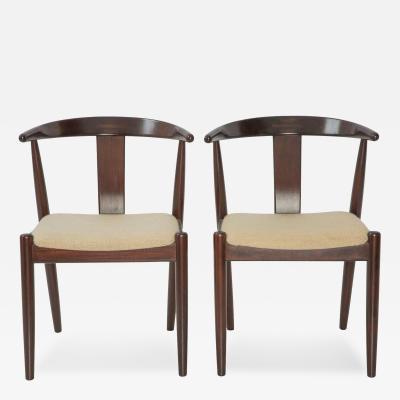 Dyrlund Pair of Dyrlund Danish Modern Arm Chairs