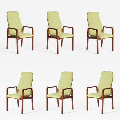 Dyrlund Set of Six Dining Chairs by Dyrlund