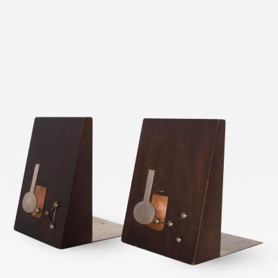 EMAUS Emaus Bookends Mid Century Mexican Modernist