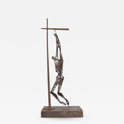 EMAUS Mid Century Modern Savior of Auschwitz Abstract Sculpture by EMAUS