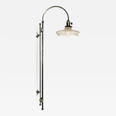 Early Electrics LLC Adjustable Arched Wall Mounted Lamp
