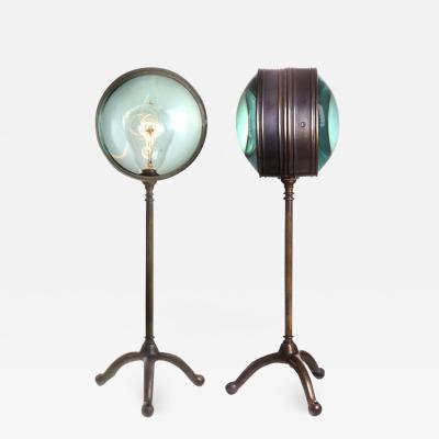Early Electrics LLC Double Magnifying Glass Desk Lamp