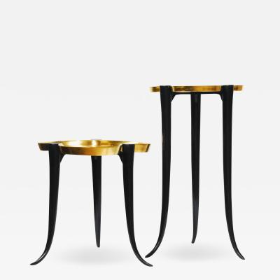 Elan Atelier Chime Side Table Gold Leaf