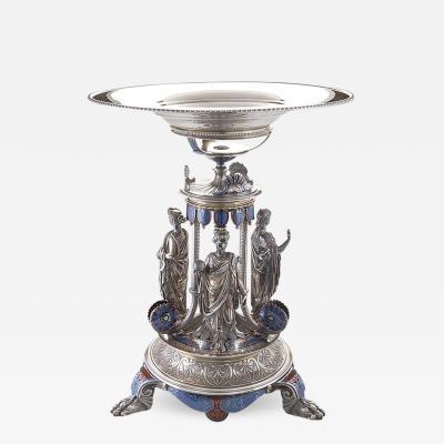 Elkington Co English Victorian Silver plated Suite by Elkington Co