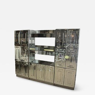 Ello Spectacular Mid Century Mirrored Dry Bar By Ello
