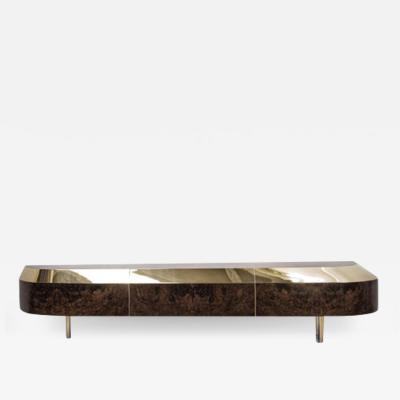 Emelianova Studio Distortion Series Object 5 Marble Console by Emelianova Studio