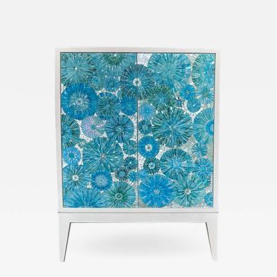 Ercole Home 2 Door Blossom Cabinet