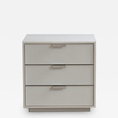 Ercole Home 3 DRAWER PLATFORM NIGHTSTAND