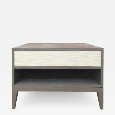 Ercole Home MILANO 1 DRAWER NIGHTSTAND