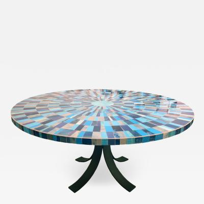 Ercole Home ROUND DINING TABLE