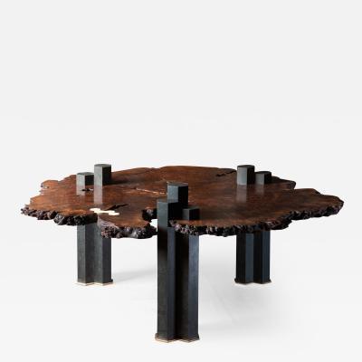 Erickson Woodworking Columnar Coffee Table