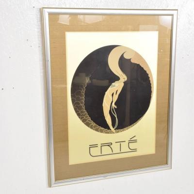 Ert Romain de Tirtoff Erte Art Deco Poster