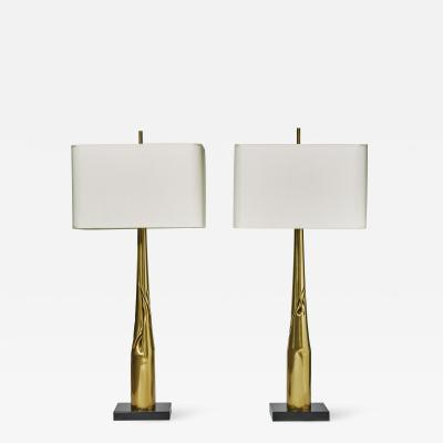 Esperia Pair of Spectre Table Lamps by Esperia for Glustin Luminaires