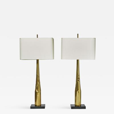 Esperia Pair of Spectre Table Lamps by Esperia for Glustin Luminaires