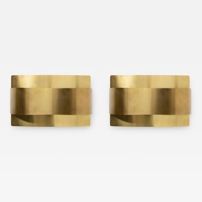 Falkenbergs Belysning Pair of Wall Lamps Sconces by Peter Celsing for Falkenbergs Sweden