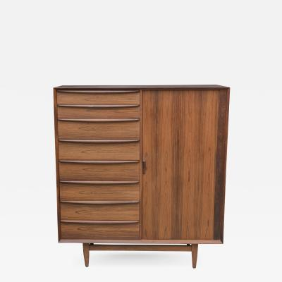 Falster Danish Rosewood Tall Dresser by Falster