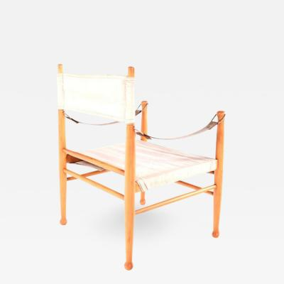 Farstrup Mid Century Danish Safari Chair by Farstrup Stolen