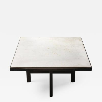 Fatima Arquitetura Mid Century Modern Marble Top Center Table by F tima Arquitetura Brazil 1960s