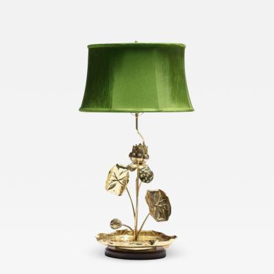 Feldman Lighting Co Feldman Lotus Flower Lamp in the Style of Parzinger circa 1960