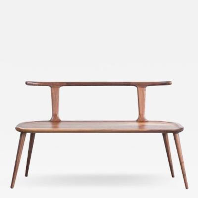 Fernweh Woodworking OXBEND BENCH WALNUT